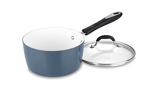 Cuisinart 5919320sb 3 Qt Saucepan Wcover Slate Blue 3 Cuarto
