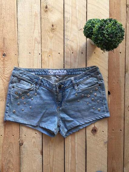 Scp 36 Short Jean Skinny Con Tachas