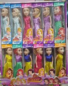 Kit Atacado 12 Mini Bonecas Sweet Vestidos Lindos Brinquedos