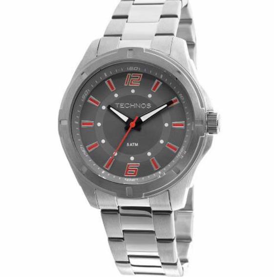 Relógio Technos Prateado Masculino 2036lod/1l