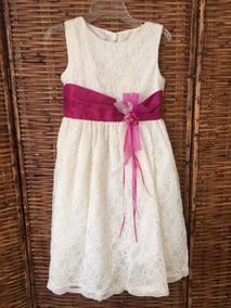 Hermoso Vestido Niña Talla10