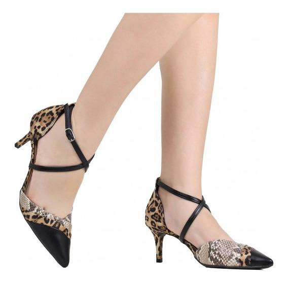Sapato Feminino Via Marte Scarpin 19-9106