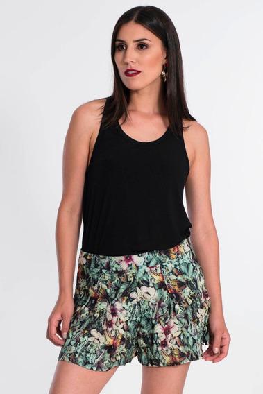 Shorts Saia Feminino Marca My Place Estampado Promoção