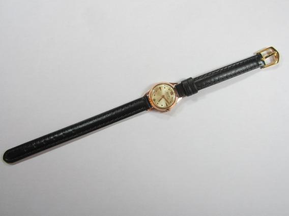 Relógio Feminino Em Ouro 14k - Frete Grátis