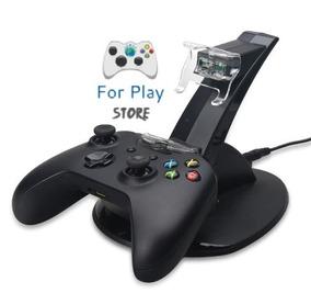 Carregador Para 2 Controles Xbox One - Dock Station Base