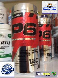 Cellucor P6 Original Testo Booster 120 Caps Original Usa
