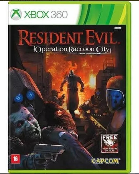 Resident Evil Operation Raccoon City (mídia Física) Xbox 360