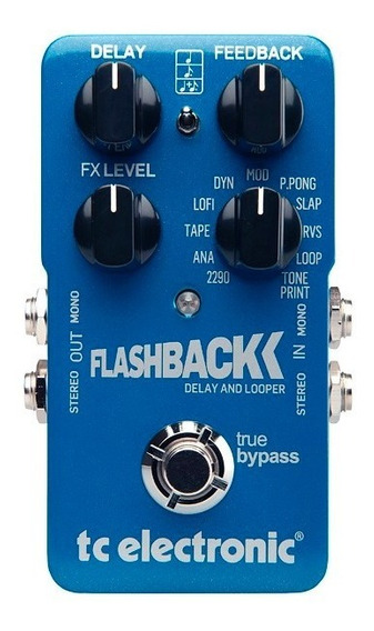 Pedal Tc Electronic Flashback Delay And Looper