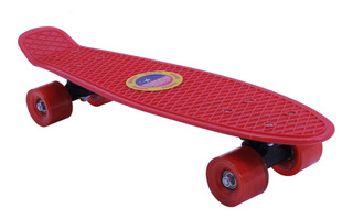 Skate Longboard Patineta Aluminio Ruedas Pu Fuerte - El Rega
