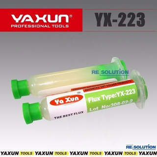 Fluxo De Solda Yaxun Yx223 - Tubo Aplicador 10ml