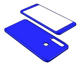 Capa 360 Anti Impacto Luxo Samsung Galaxy A9 2018+1 Pelicula