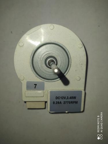 Micro Motor Nevera 12v 3.48w 2770rpm Numero 7