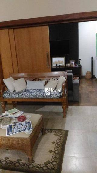 Casa Com 3 Dormitórios Para Alugar, 226 M² Por R$ 5.500/mês - Residencial Quinta Do Golfe - São José Do Rio Preto/sp - Ca2072