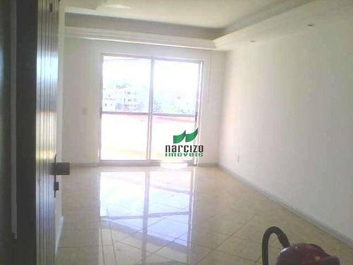 Imagem 1 de 10 de Apartamento Com 3 Dormitórios À Venda, 95 M² Por R$ 290.000,00 - Pernambués - Salvador/ba - Ap0276