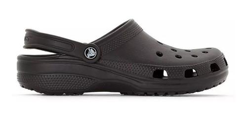 Imagen 1 de 5 de Crocs Classic Clog Negro Black Original Envio Gratis