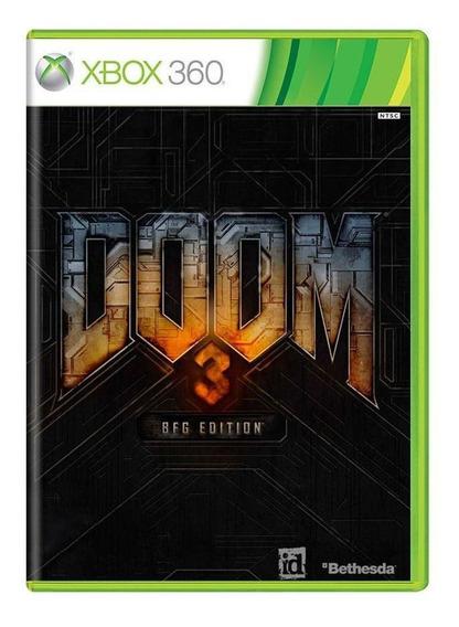 Doom 3 Bfg Edition Xbox 360 Mídia Física Pronta Entrega