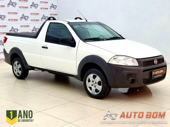 Fiat Strada Working 1.4 8v Cs Completa! Impecável! 2016