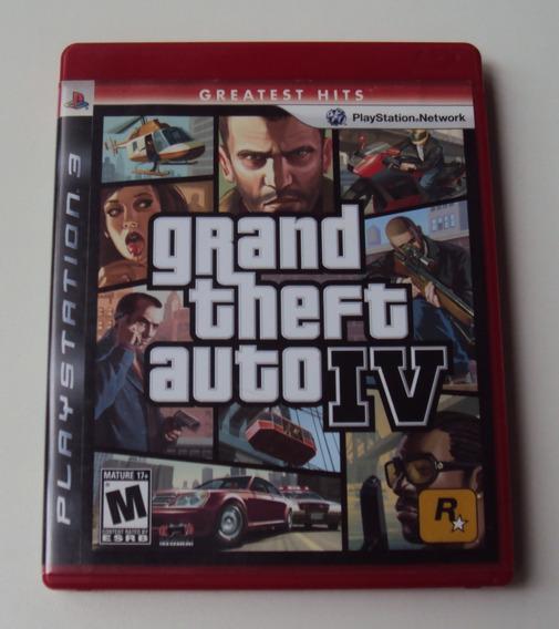 Gta Iv Original Com Mapa Para Playstation 3
