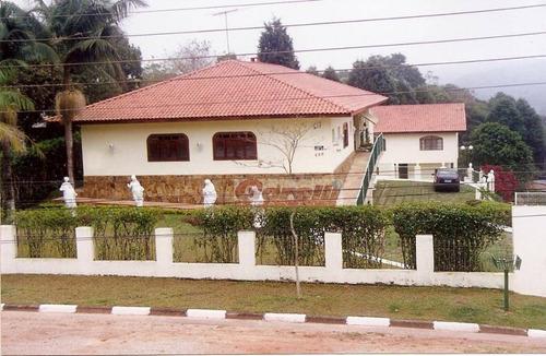 Chácara Com 6 Dormitórios À Venda, 2100 M² Por R$ 1.200.000,00 - Caputera - Arujá/sp - Ch0052