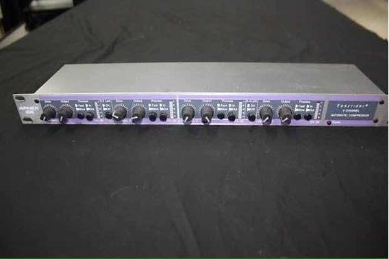Aphex Model 106 Easyrider -4 Canais Compressor- Made In Usa