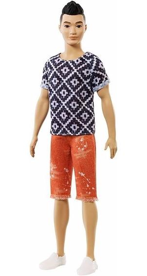 Boneco Ken Fashionista Coleção Dwk44 / Fxl62 - 115 - Barbie