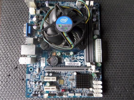 Placa Mãe + Processador I5 2310