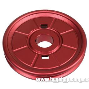 Polea De Aluminio Diseño Original Roja Empi