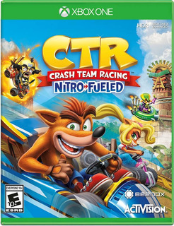 Crash Team Racing Nitro Fueled Xbox One Nuevo Sellado Beyond