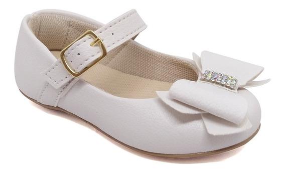 Sapatilha Infantil Menina Sapato Laço 19a27 De Fabrica 2114