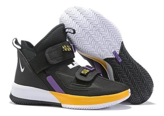 Tenis Nike Lebron Soldier 13 Varias Cores 34 A 43 Frete Grat