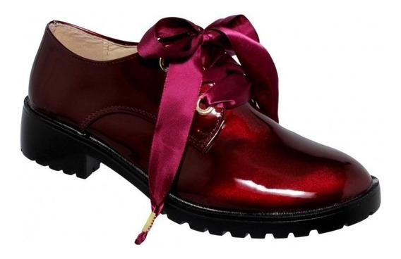 Zapato Para Dama Charol Vino-mod.0917es5213765