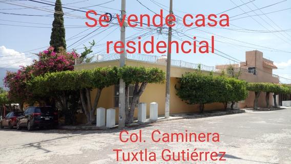 Casa Residencial, Colonia Caminera, Tuxtla Gutierrez