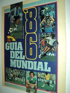 Guia Mundial Mexico 1986 / El Grafico