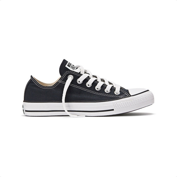 Zapatillas Converse Chuck Taylor Ox All Star Negras Urbano