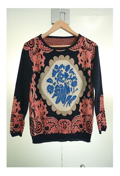 Maravilhoso Suéter Importado Estampa Vintage