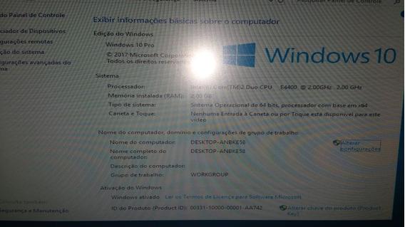 Cpu Dell Optiplex 745 Core2duo Hd80gb Ram2gb (0062)