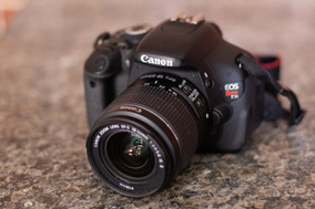 Canon T3i (só 13k) + Objetiva + 2 Baterias + Sdhc + Bolsa