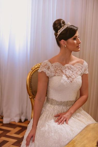 Vestido De Noiva Princesa Da Estilista Marie Lafayette