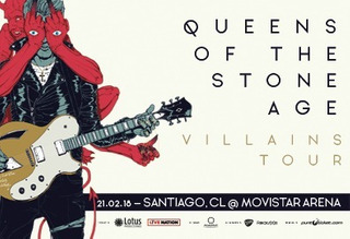 Queens Of The Stone Age 21 Feb. - 2 Entradas Cancha X 60.000