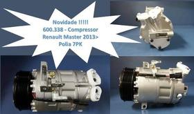 Compressor Renault Master 2013  Polia 7pk