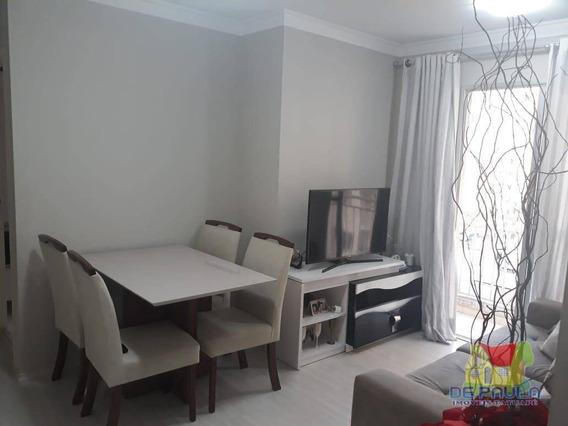 Apartamento Com 2 Dormitórios Para Alugar, 48 M² Por R$ 1.600/mês - Tatuapé - São Paulo/sp - Ap2332
