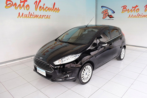 Ford Fiesta 1.6 Titanium Hatch 16v Flex 4p Manual 2017