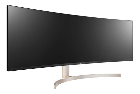 Monitor ultrawide curvo