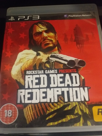 Red Dead Redemption Ps3 Mídia Física