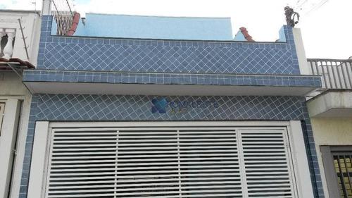Sobrado Com 3 Dormitórios À Venda, 160 M² Por R$ 795.000,00 - Vila Prudente - São Paulo/sp - So0125