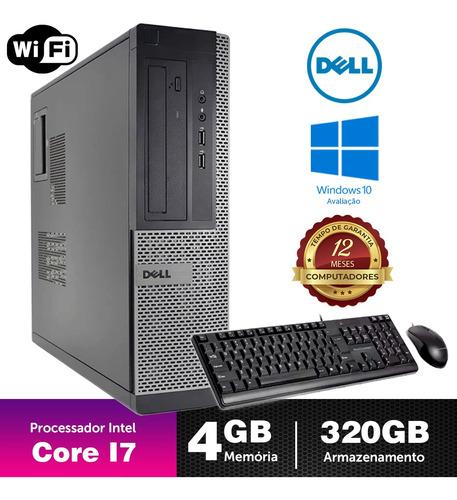 Computador Usado Dell Optiplex Int I7 2g 4gb 320gb Brinde