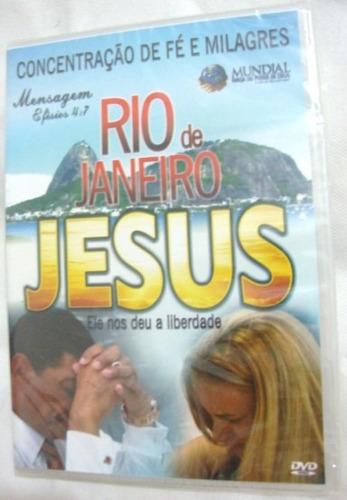 Dvd Rio De Janeiro Jesus Ele Nos Deu A Liberdade  Valdomiro