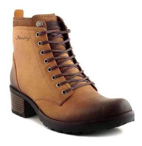 Borcego Bota Cuero Mujer Freeway Zapato Botita Mcbo24788