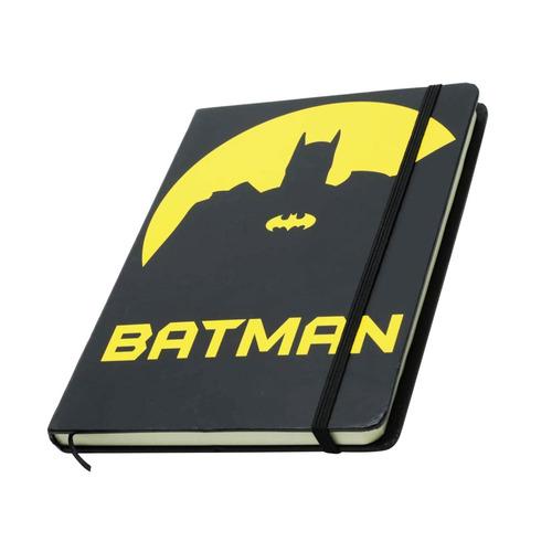 Caderno De Anotacao A5 Dc Batman Dark Face Preto