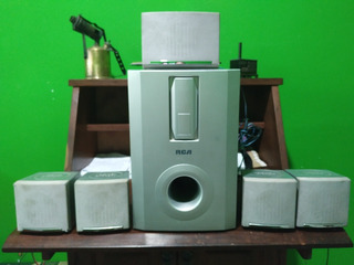 Parlates Y Woofer De Home Theater 5.1